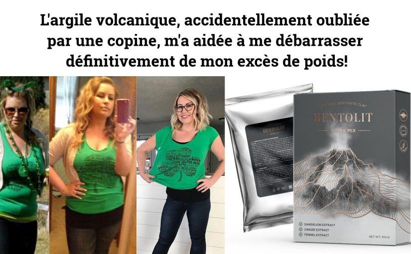 L'argile volcanique, accidentellement oubliée par une copine, m'a aidée à me débarrasser définitivement de mon excès de poids!